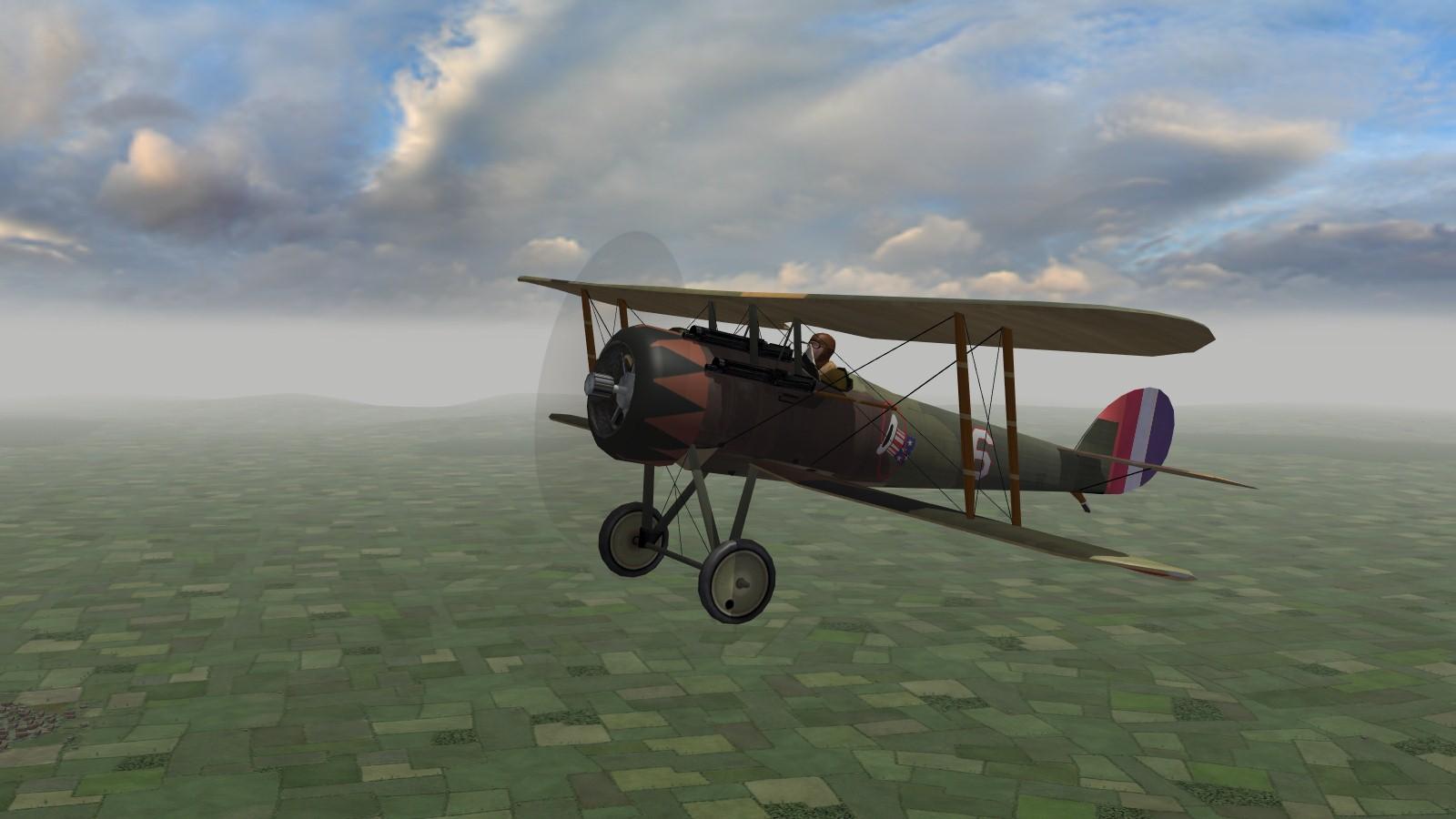 First Eagles 2 - USAS Nieuport 28