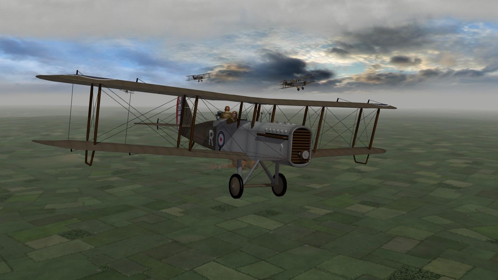 first Eagles 2 - DH9A