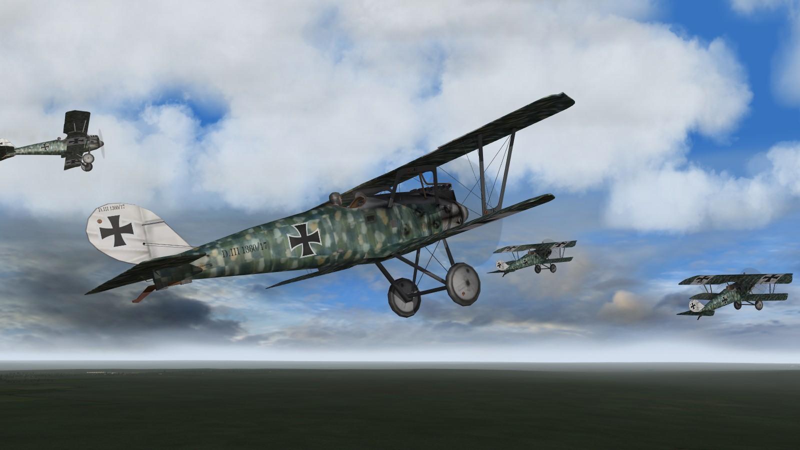 First Eagles 2 - Blue Max Pfalz DIII