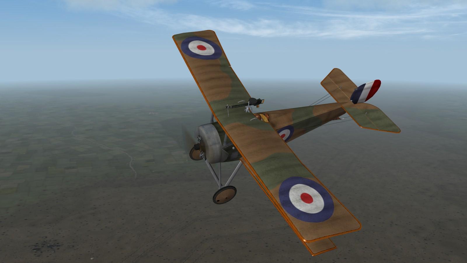 First Eagles 2 - RFC Nieuport 11