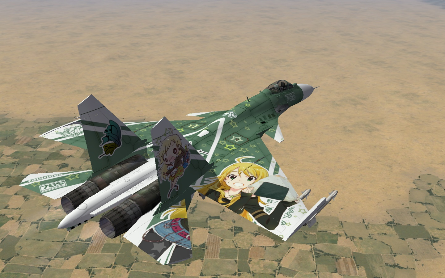 """""""2rd"""" THE IDOLM@STER 2 Miki Hoshi SU-33""""Sea Flanker"""""""