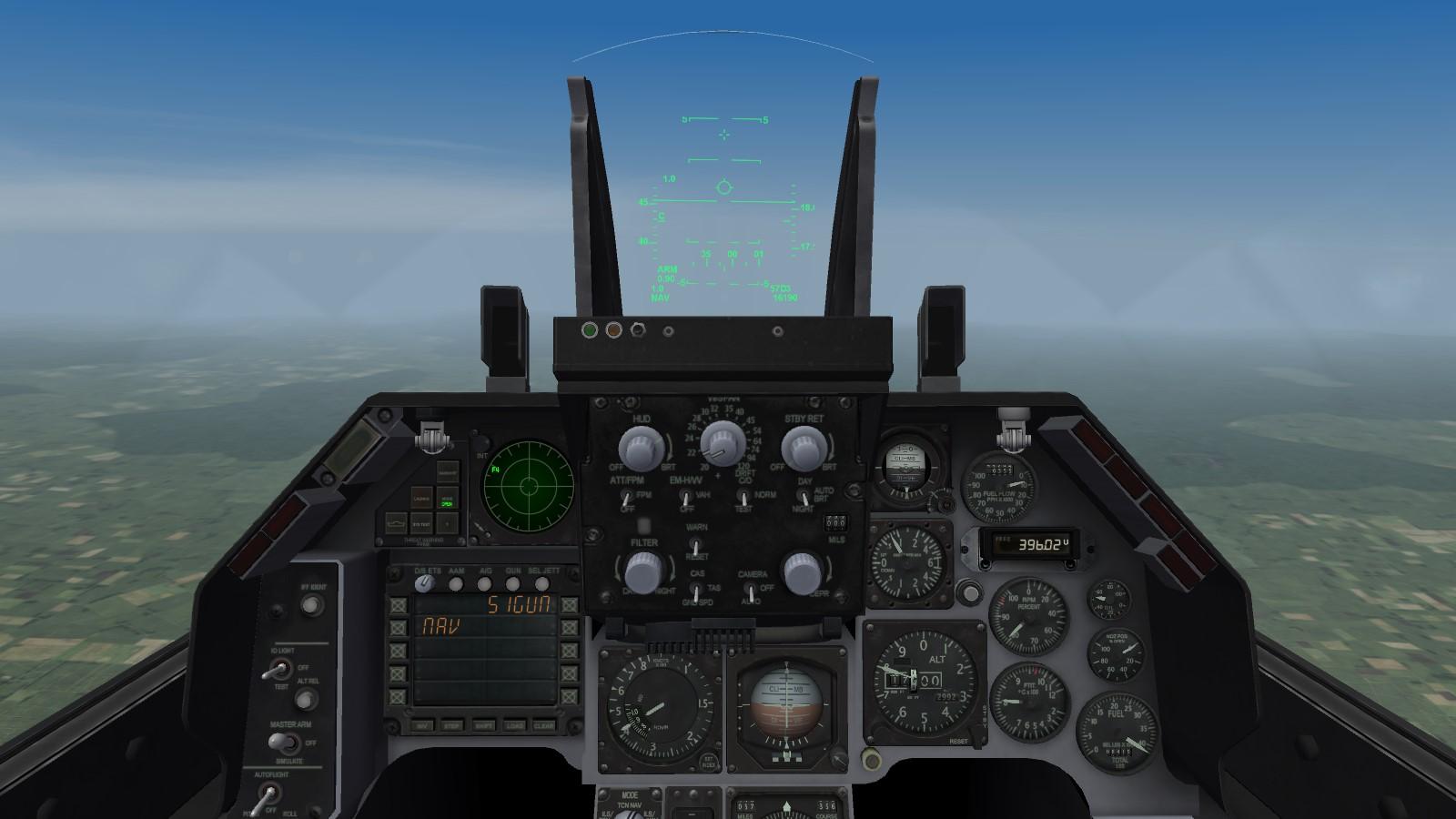 A-16A cockpit