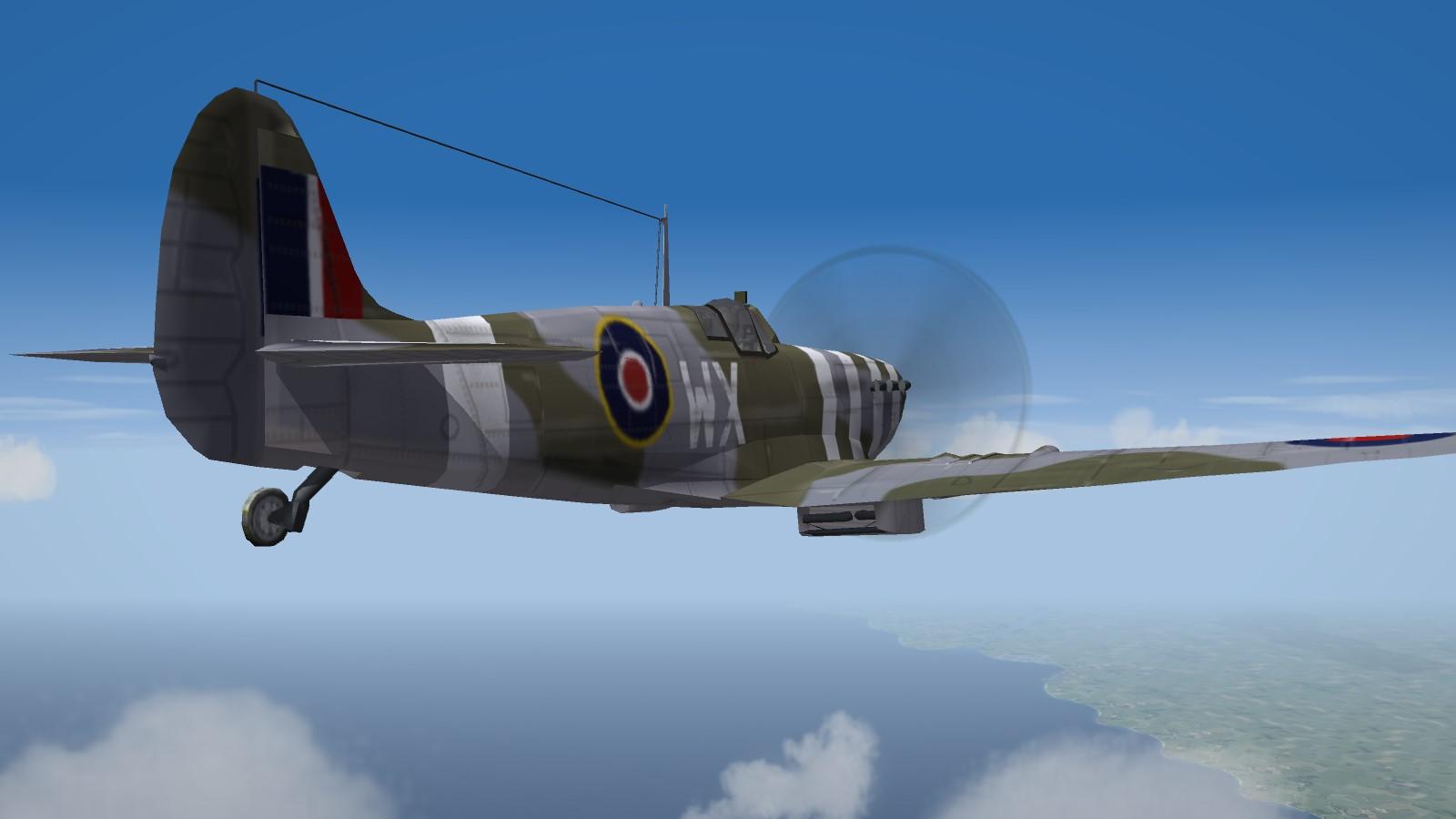 Spitfire Mk.Vb photorecon
