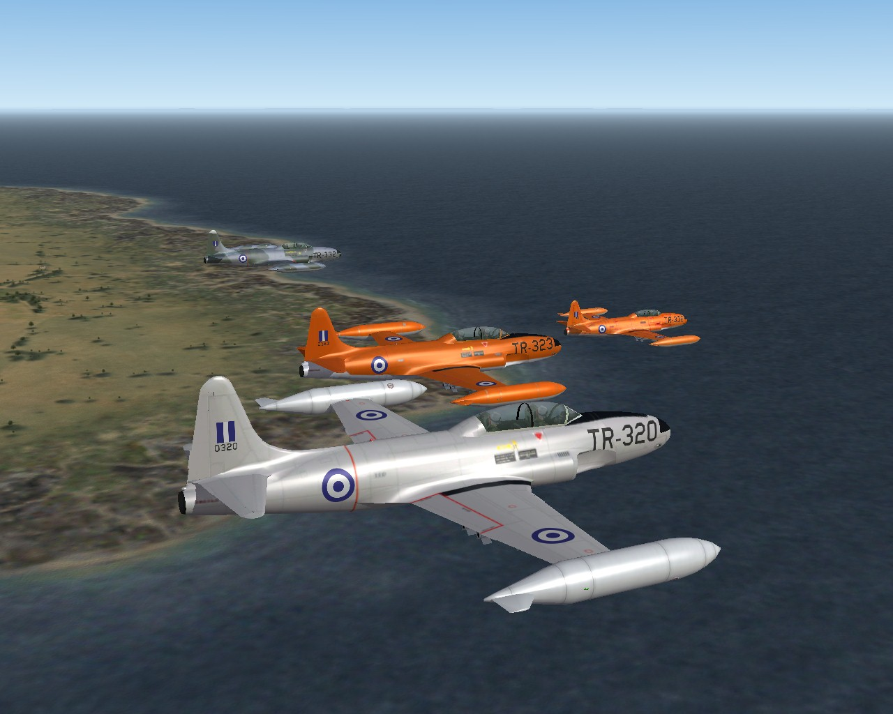 1 (23)  THE T-33s