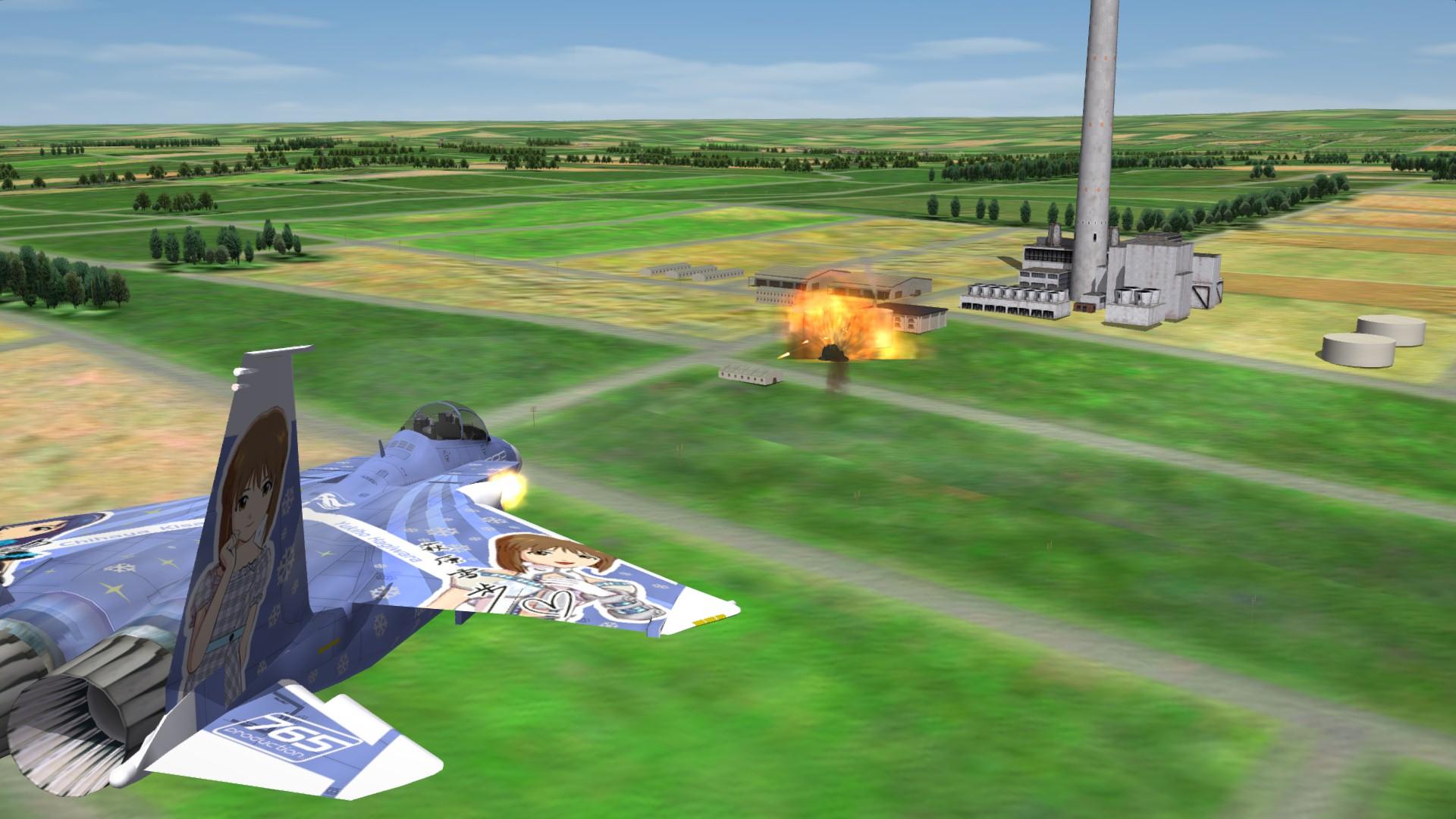 F-15SE -Chihaya Kisaragi and Yukiho Hagiwara-