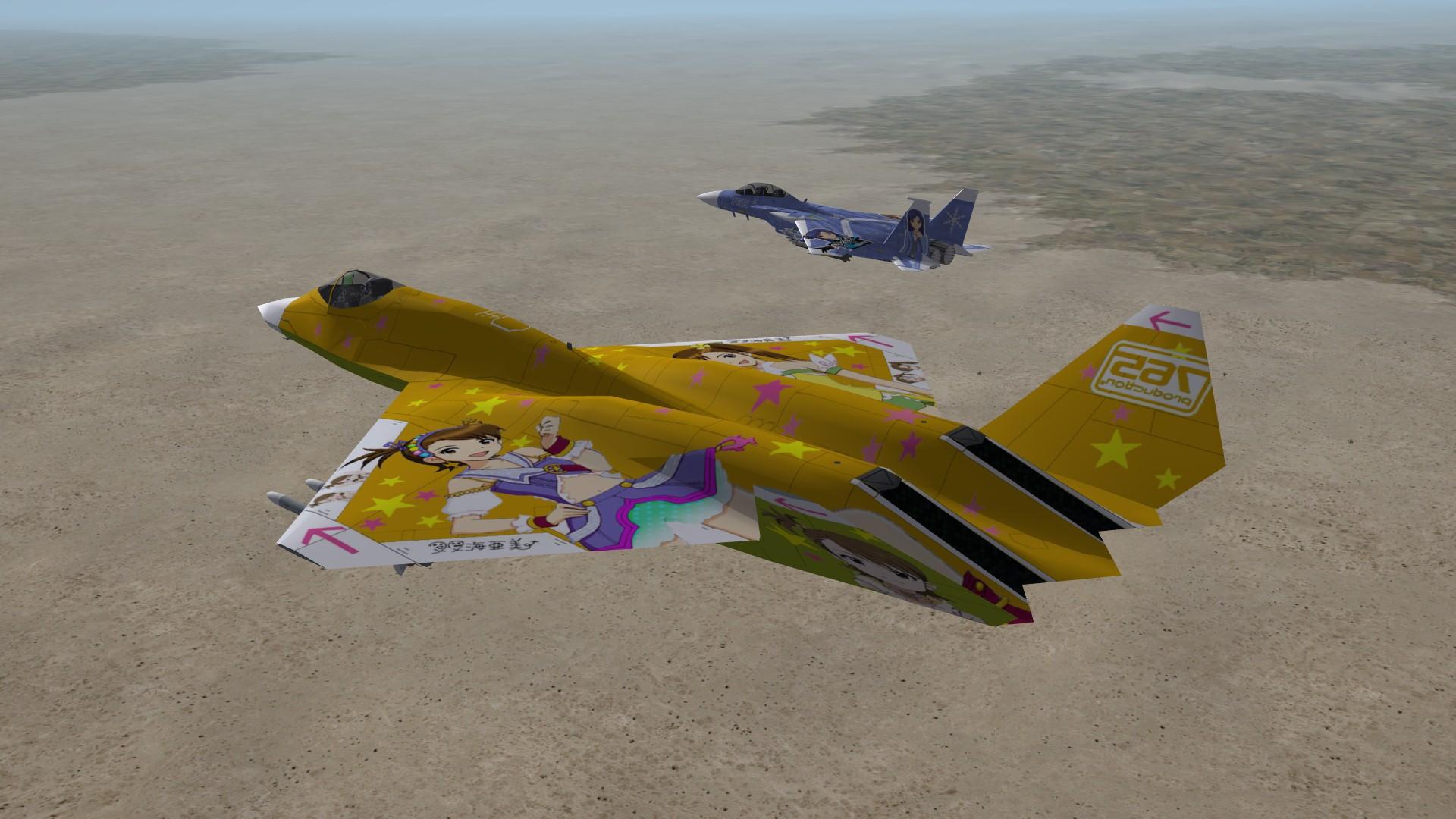 YF-23 -Futami Twins-