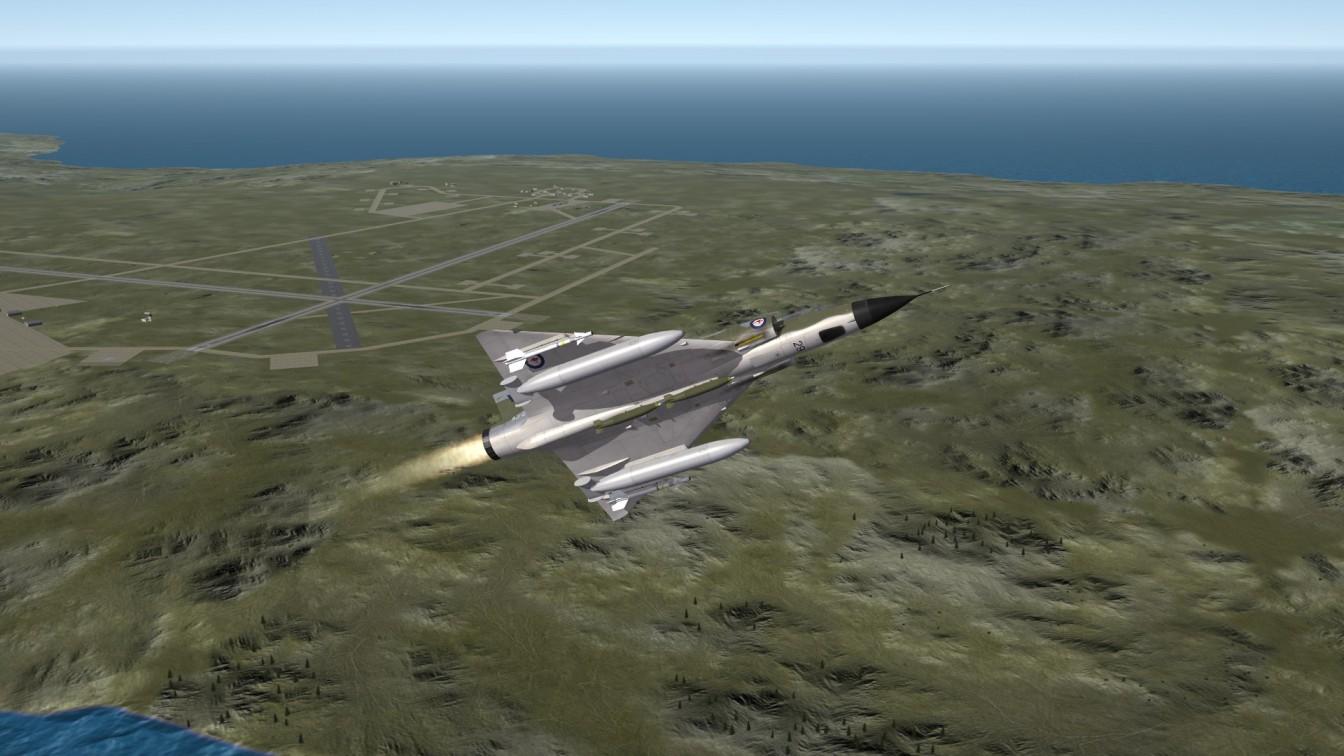 Mirage3O RAAF Iceland