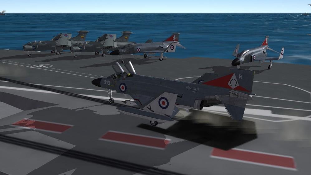 F-4K Ark Royal 1970s