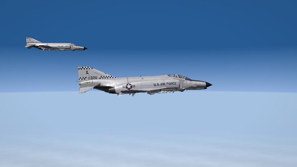 F-4Es over Iceland