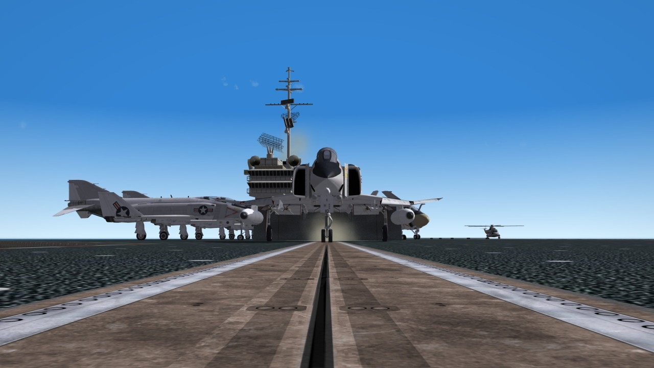 F-4N on CVN-66