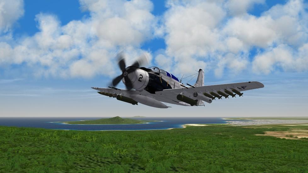 A-1E over South Vietnam