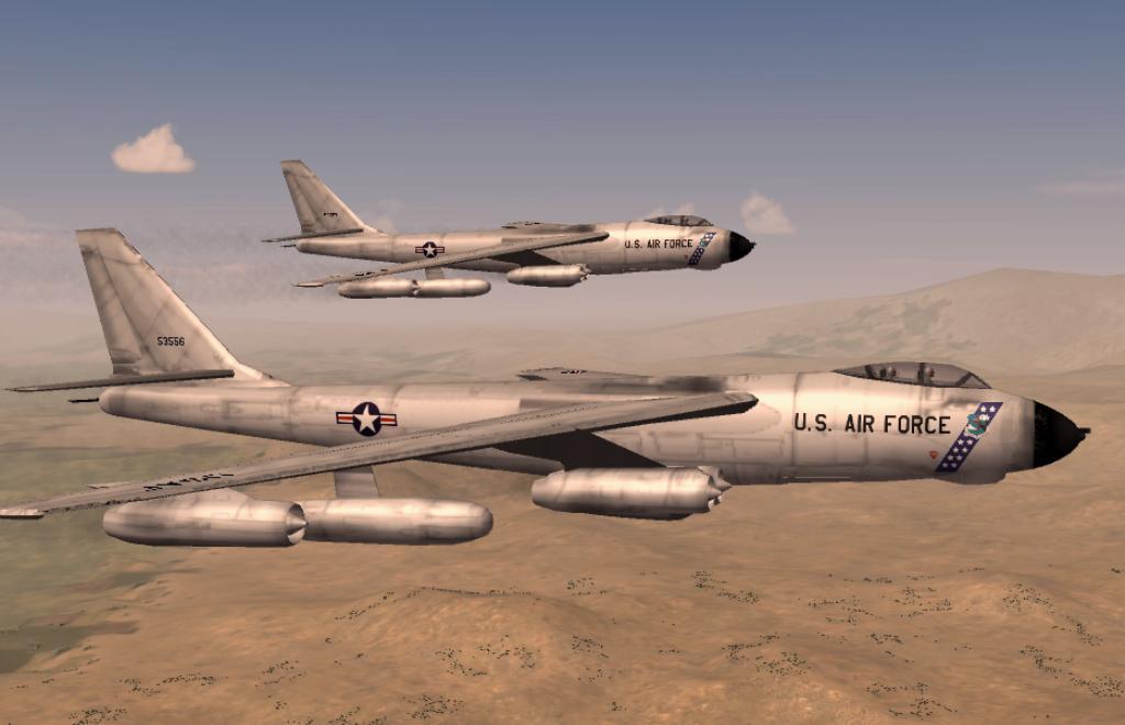 B-47 Southern California Terrain