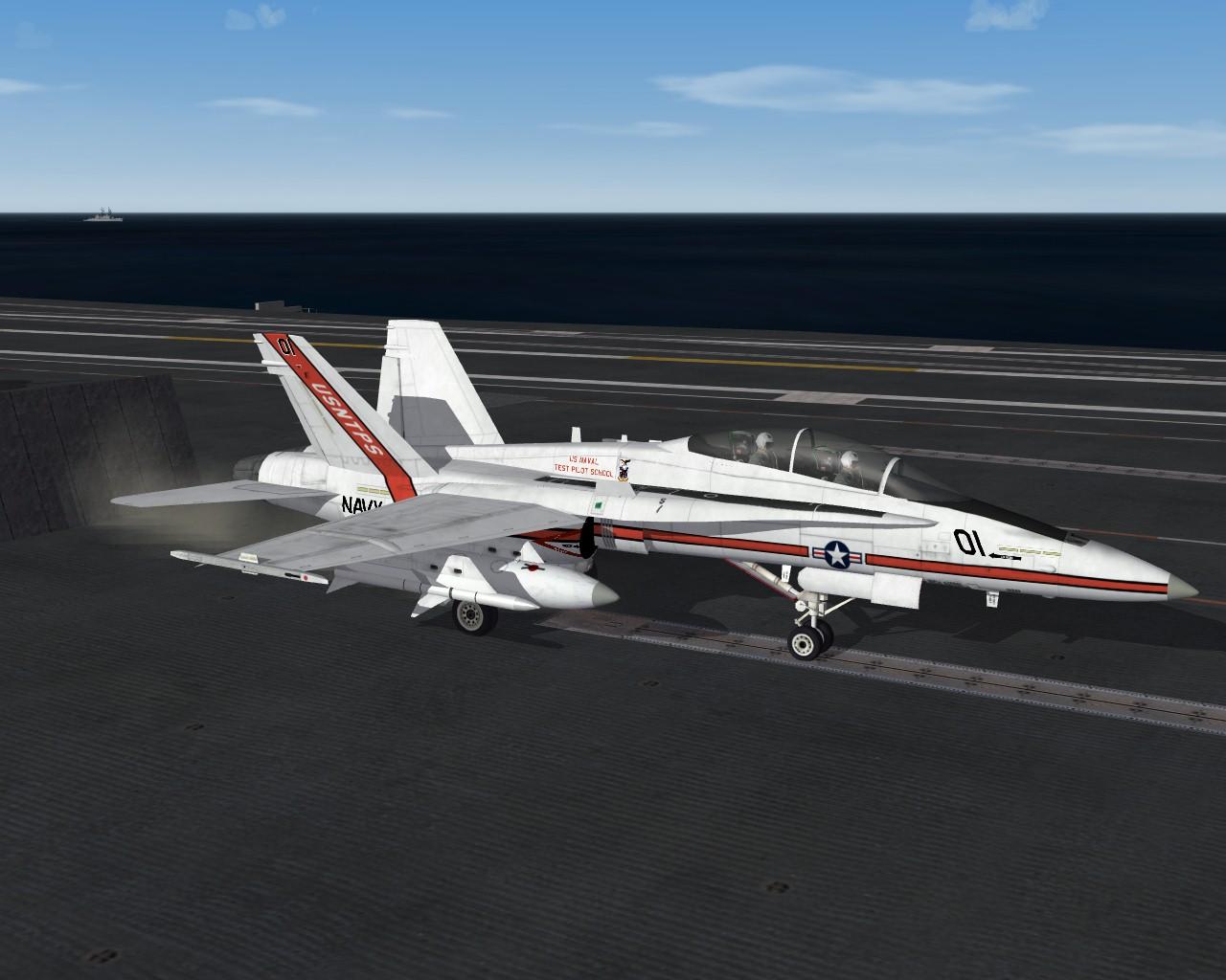F/A-18B USNTPS WIP