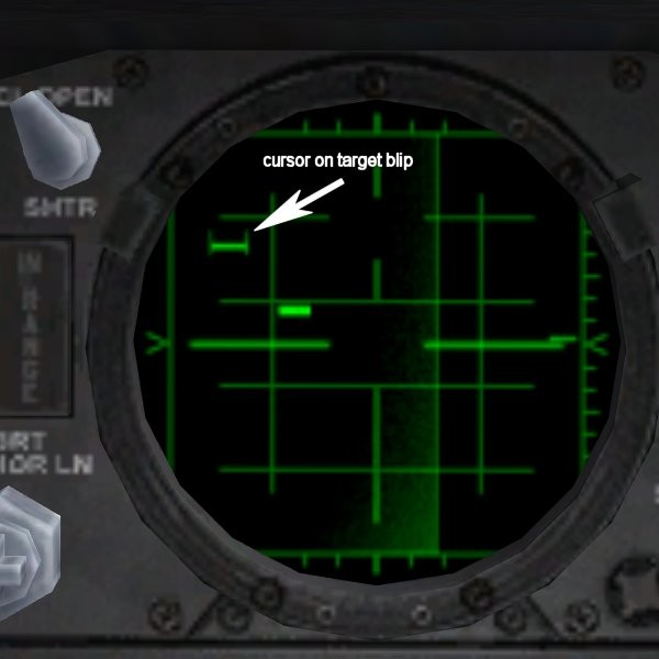 how to move cursor on falcon bms