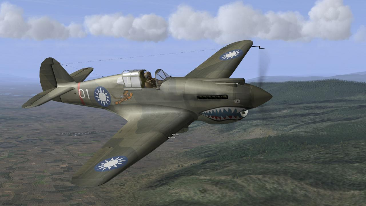 IL-2+CUP - Flying Tigers - Mission Reports - CombatACE
