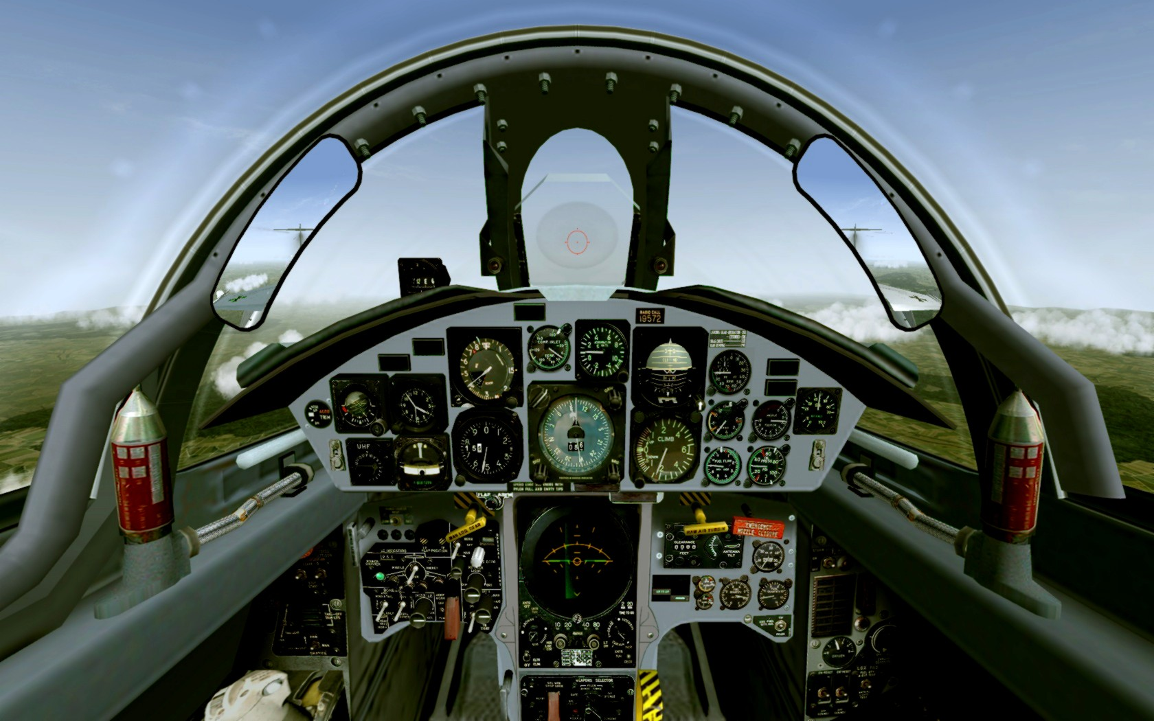 f 104c starfighter cockpit - HD 1680×1050