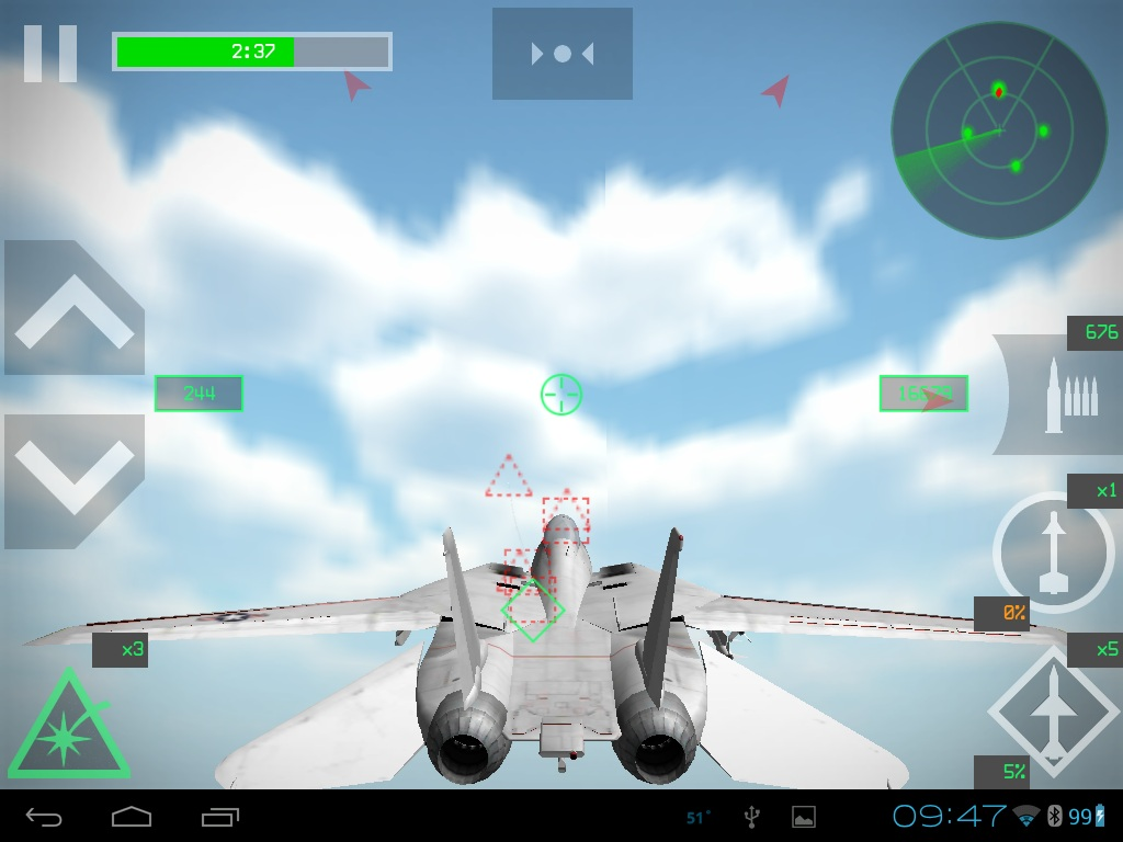 Strike Fighters Android Review - Game Reviews - CombatACE