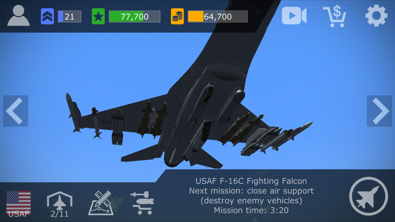 Strike Fighters: Modern Combat - Game Reviews - CombatACE