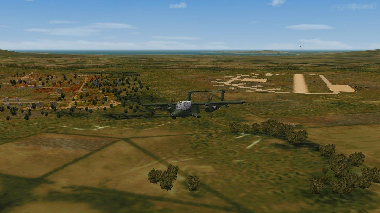OV-10D take off from #3 field.JPG