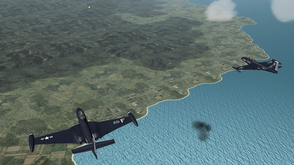 Step 6 F2H Flight Engaged by Flak.JPG
