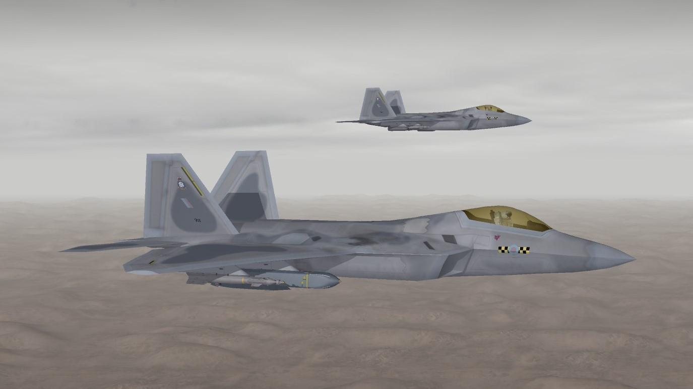 Raptor FGR1 - Thirdwire: Strike Fighters 2 Series - Sci-Fi