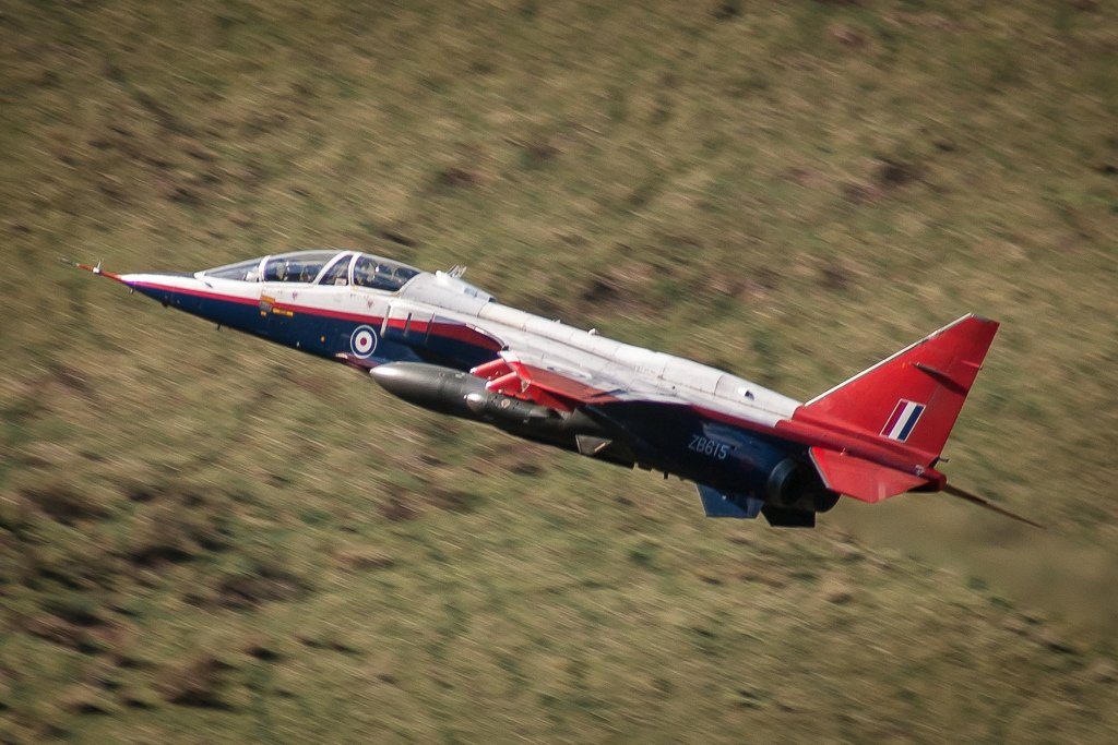 Airframes I've worked on over the years: Jaguar T2 ZB615
