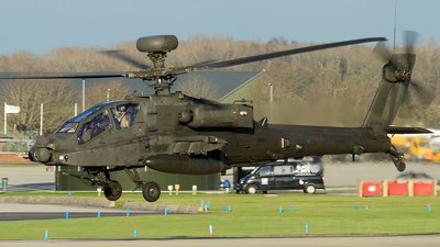 Airframes I've worked on over the years: Apache AH1 ZJ171