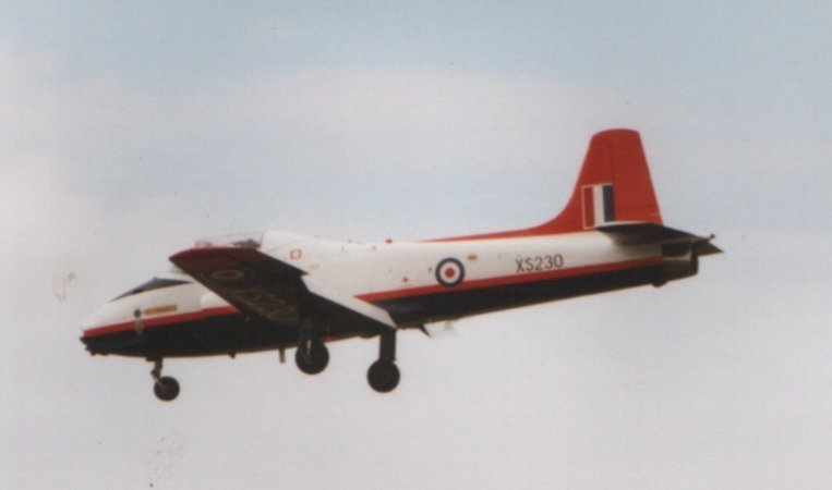 Airframes I've worked on over the years: Jet Provost XS230