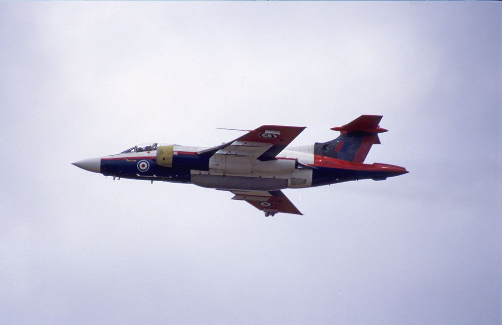 Airframes I've worked on over the years: Buccaneer XW987