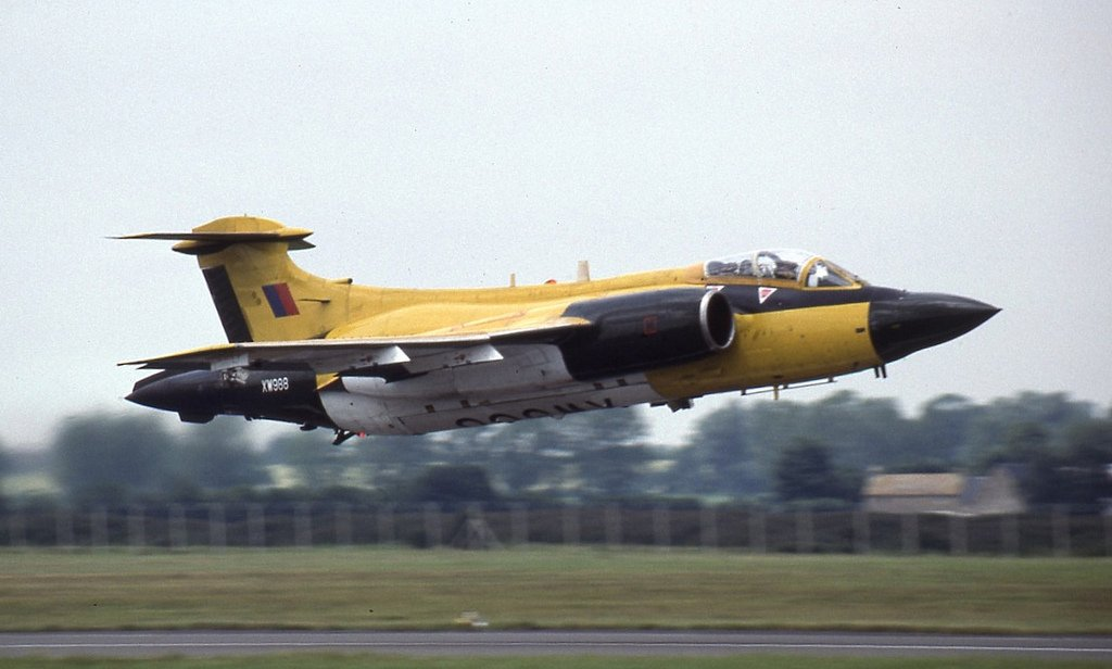 Airframes I've worked on over the years: Buccaneer XW988