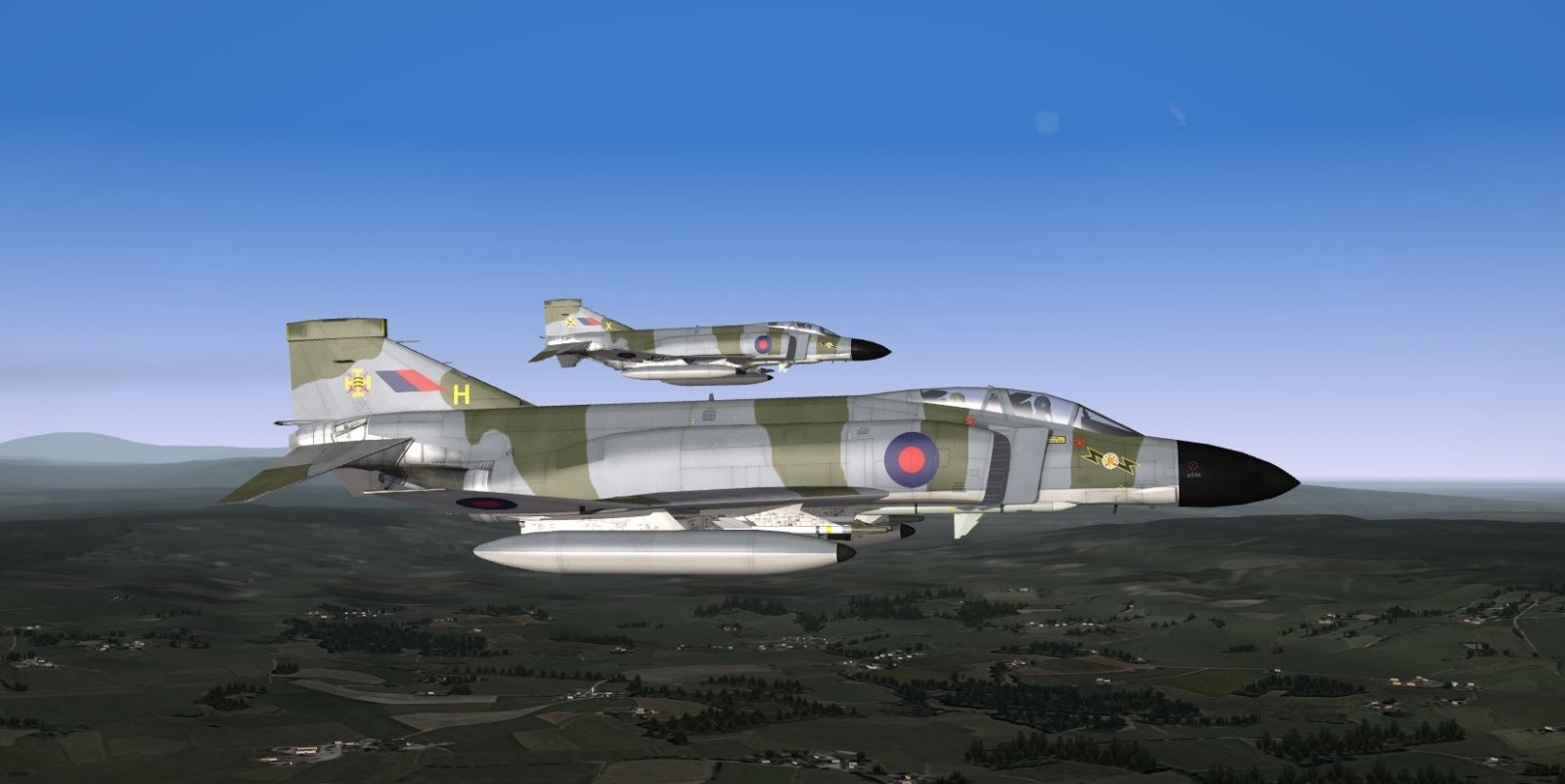 Royal Air Force Phantom FGR2 (F4M) late 1970s to early 1980s