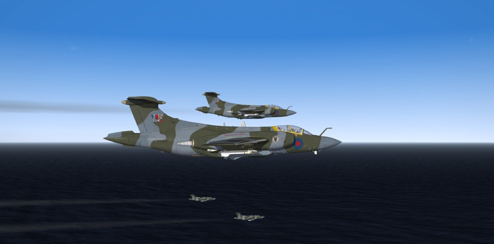 Royal Air Force Buccaneer, 12 Sqn anti shipping with Sea Eagle missile