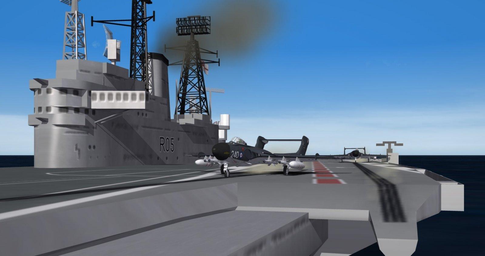 DeHavilland Sea Vixen FAW1, HMS Eagle