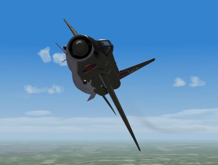 English Electric Lightning F.Mk.2A 19 Sqn Royal Air Force Germany