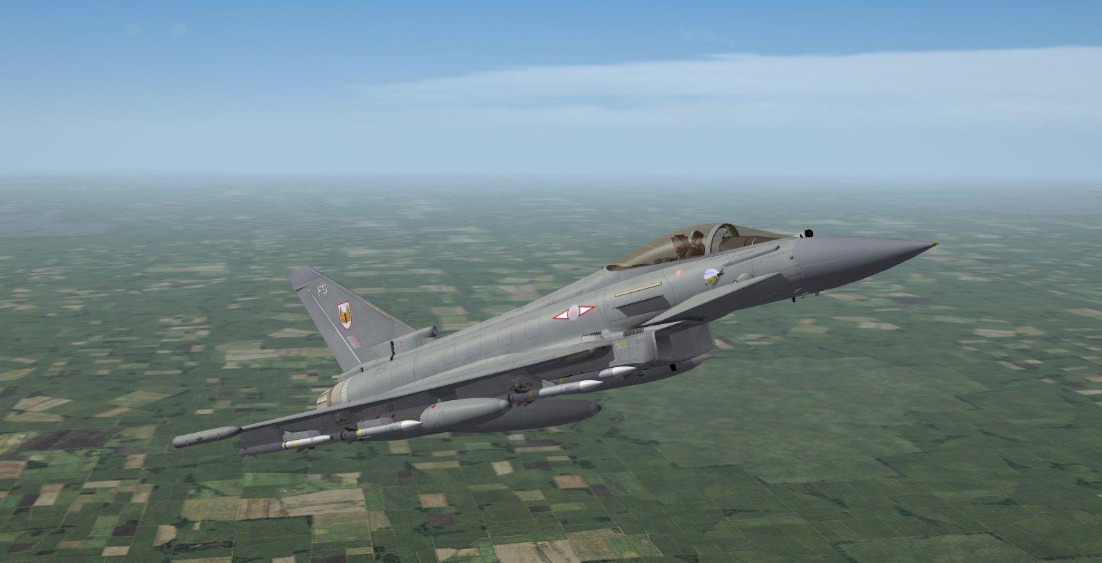 Typhoon, No.1 Squadron Royal Air Force