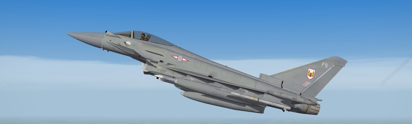 Typhoon, No.1 Squadron Royal Air Force
