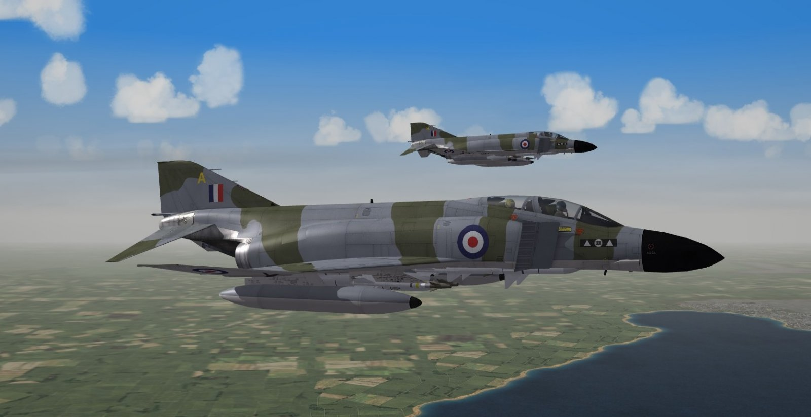 Royal Air Force Phantom FGR2 (F4M) early 1970s