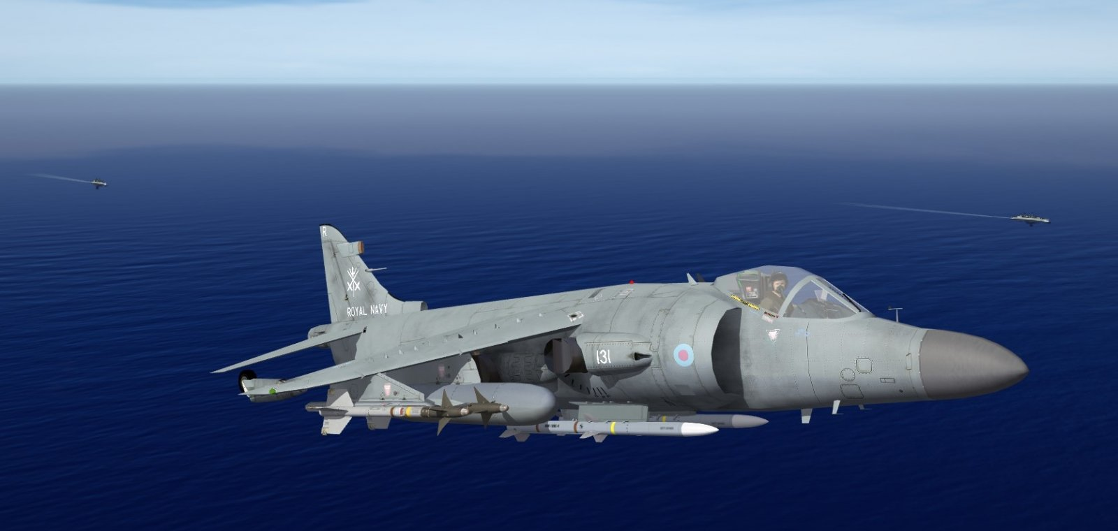 Royal Navy BAe Sea Harrier FA2