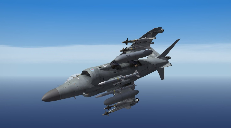 Royal Navy BAe Sea Harrier FA2