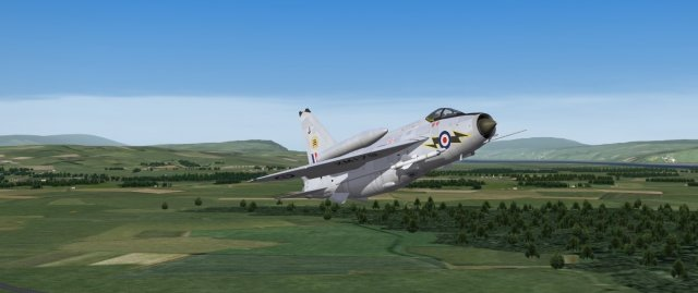 English Electric Lightning F.Mk.6, 111 Sqn Royal Air Force, late 1960s