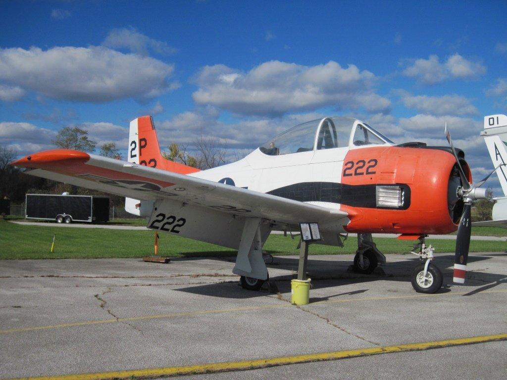 1952 North American T-28A Trojan.JPG