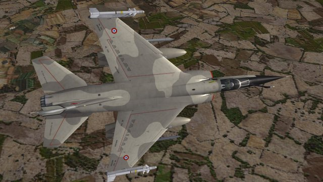 Mirage F1CR over Iraq