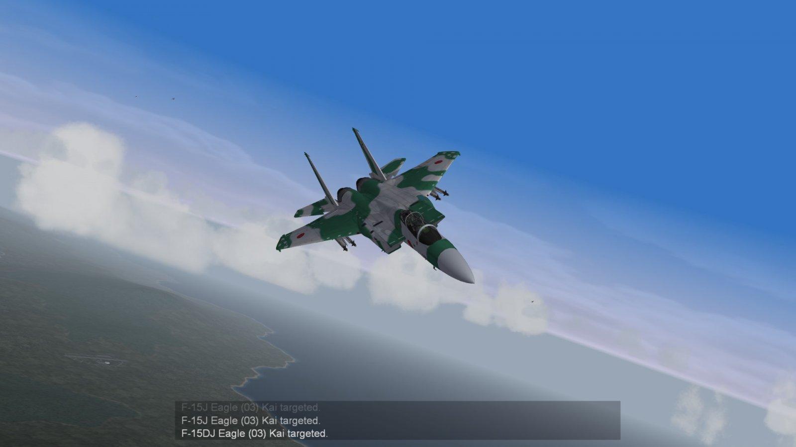 Aggressor Eagle Over the North