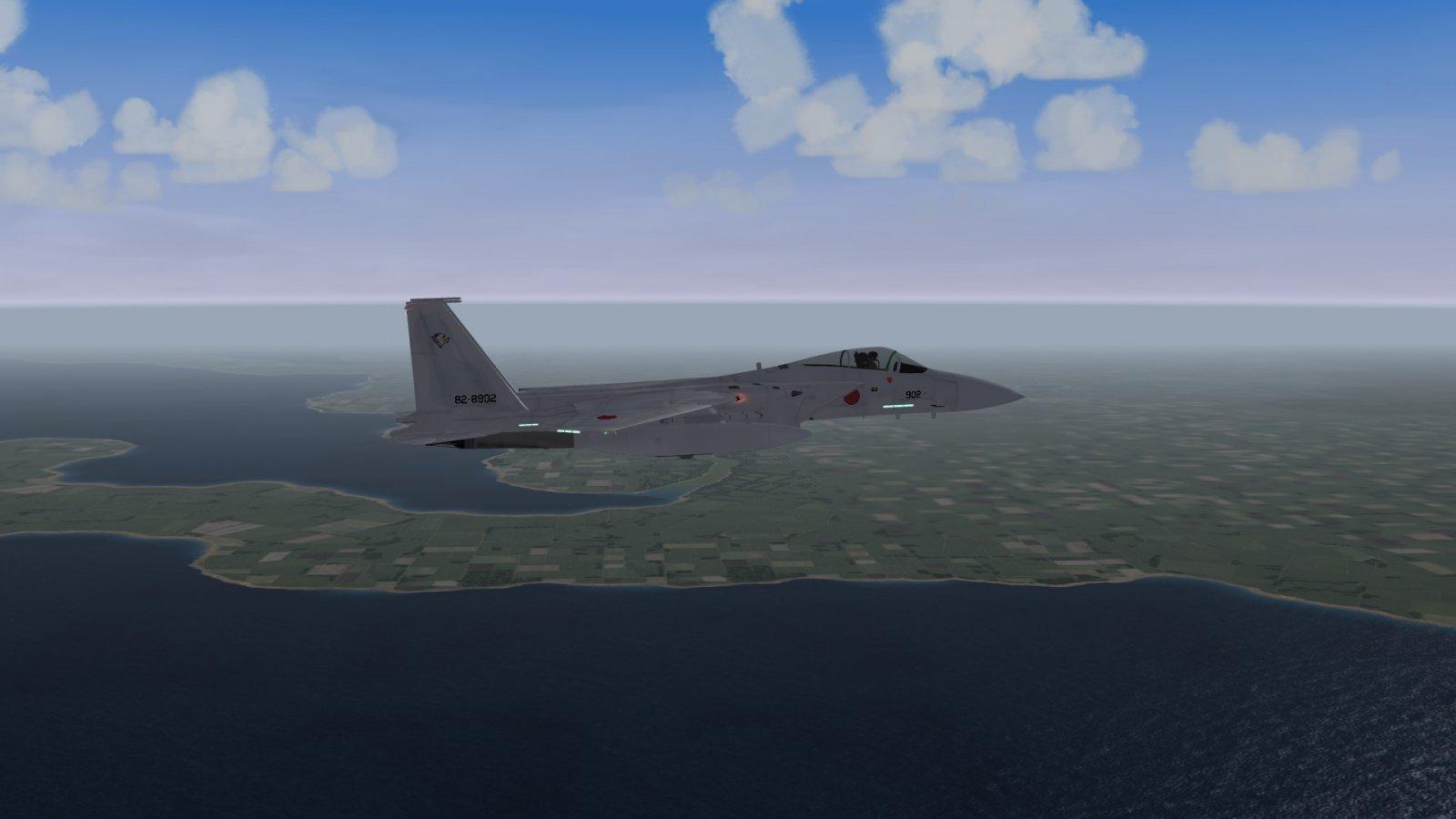 A F-15J Over Hokkaido
