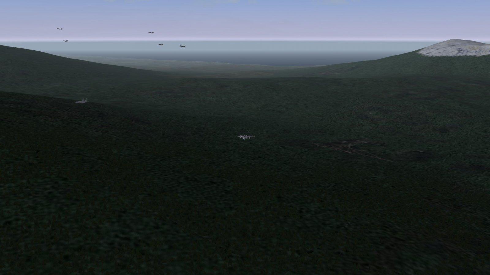 Seven F-15Js Heading Home