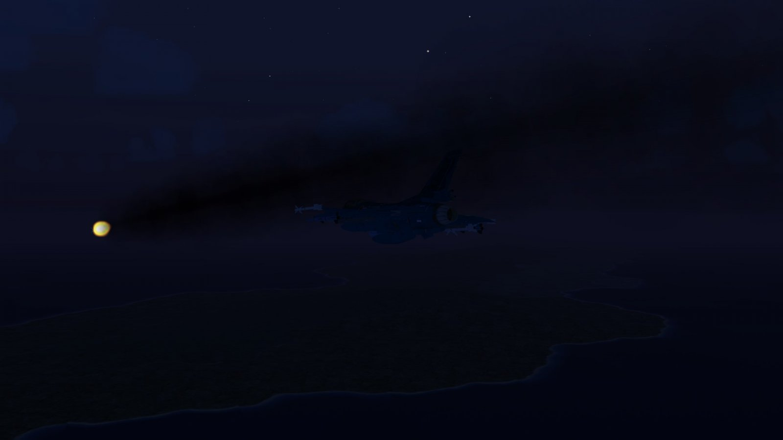 Firing Off an AGM-88