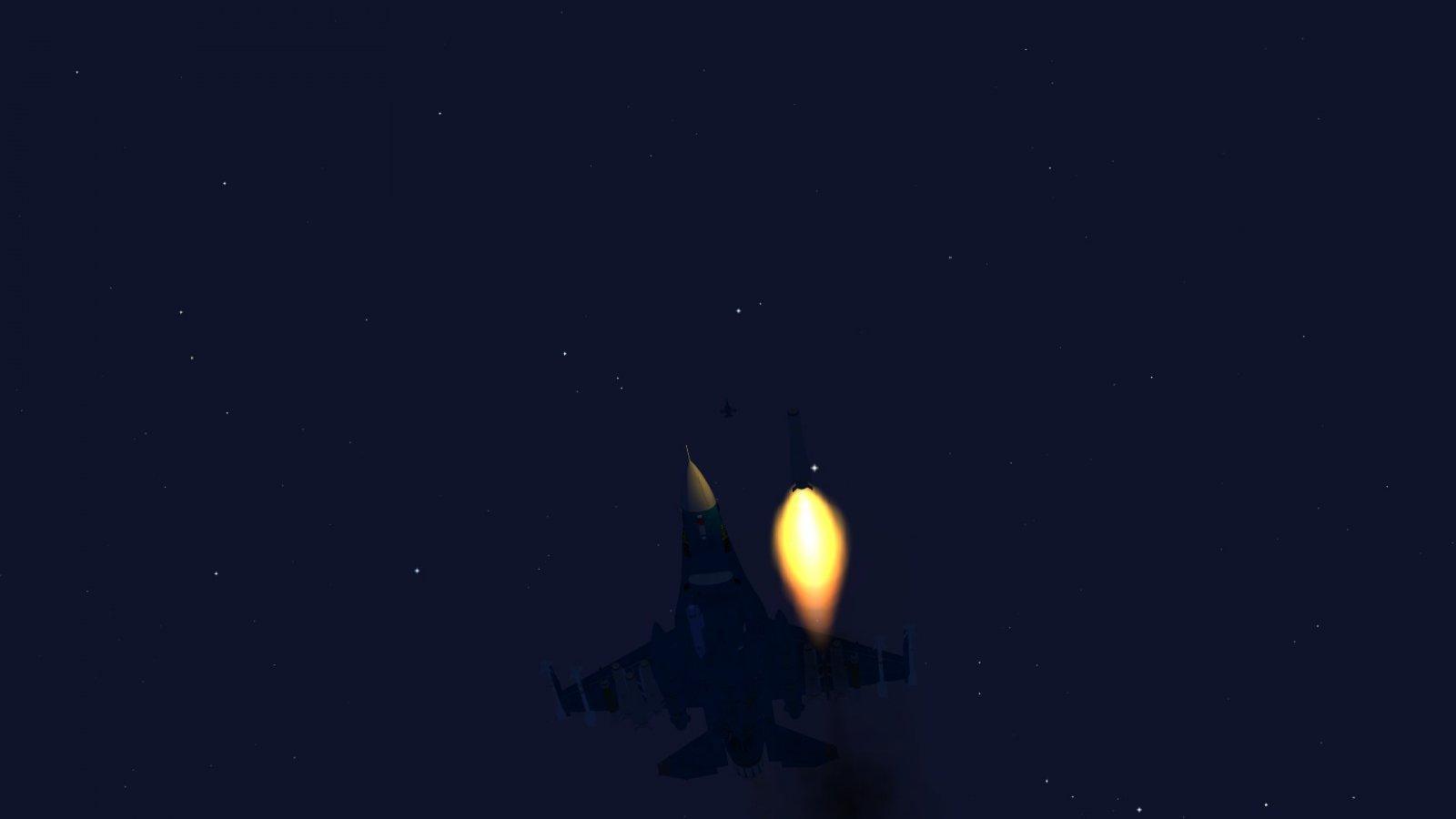 F-2A Firing A Maverick
