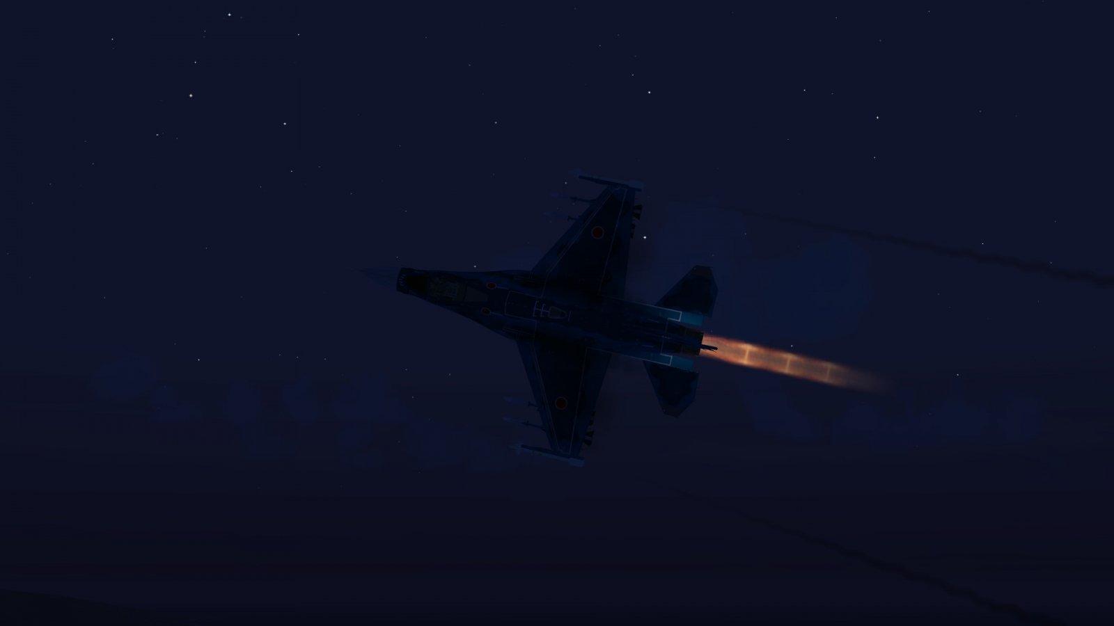F-2A High Alpha Attitude