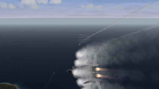 Intense F-15J Dogfight