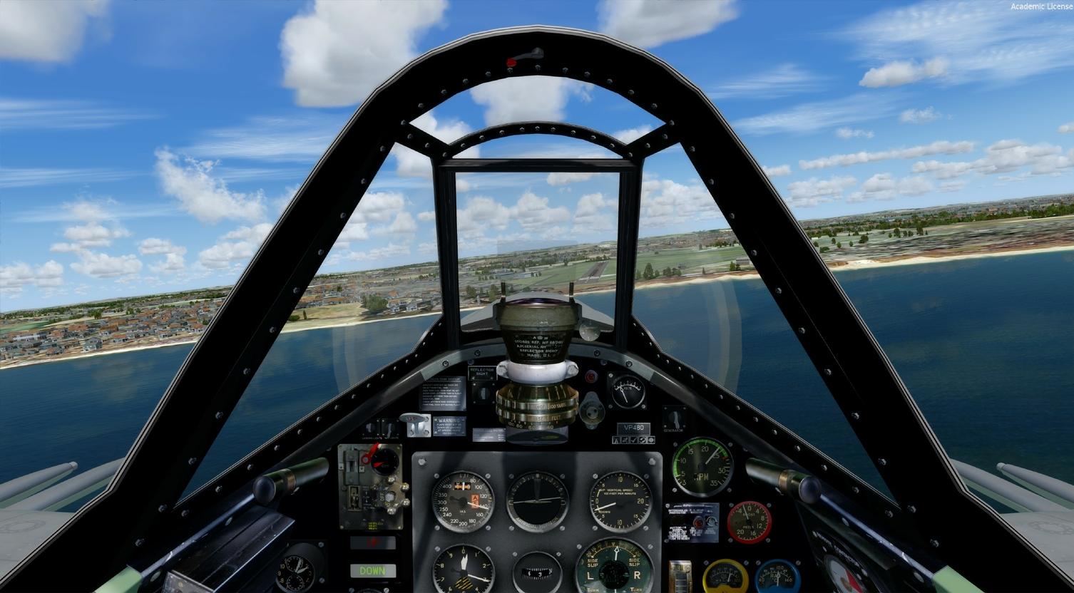 Seafire-FSX release-Freeware - Microsoft Flight Simulator - CombatACE
